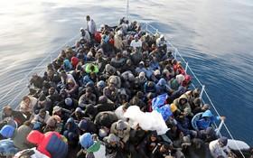 ۱۷۰ مهاجر دیگر در دریای مدیترانه غرق شدند