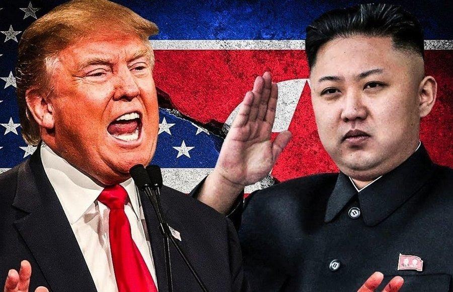 سران کره شمالی و آمریکا