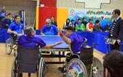 قهرمانی آسایشگاه فیاضبخش و موسسه اعتباری ملل در لیگ تنیس روی میز جانبازان و معلولین