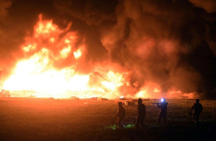 انفجار خط لوله سوخت مکزیک