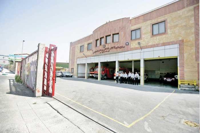 ساخت ایستگاه آتشنشانی در خیابان پیروزی