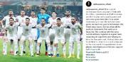 تبریک اینستاگرامی کیروش به بازیکنانش