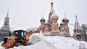 مسکو شاهد سنگین ترین بارش برف طی ۷۰ سال اخیر