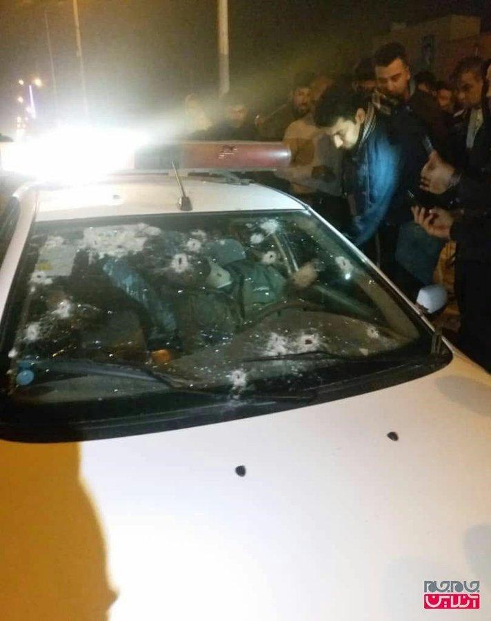 شهادت ۲ مامور نیروی انتظامی +عکس