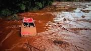 شکستن سد در برزیل؛ چندین کشته و صدها گمشده در دریایی از گلولای