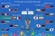 اینفوگراف | مرحله حذفی جام ملتها