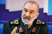 عکس | دستنوشته فرمانده کل سپاه پس از پرتاب ماهوارهبر قاصد
