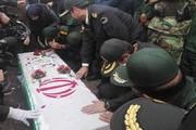 پیکر شهید مدافع امنیت در باشت تشییع شد