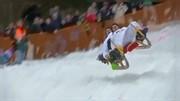 عکس   مسابقه سورتمههای برفی در آلمان