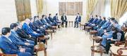دیدار جهانگیری و بشار اسد در دمشق