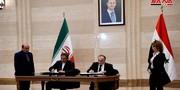 امضای ۱۱ توافقنامه همکاری میان سوریه وایران