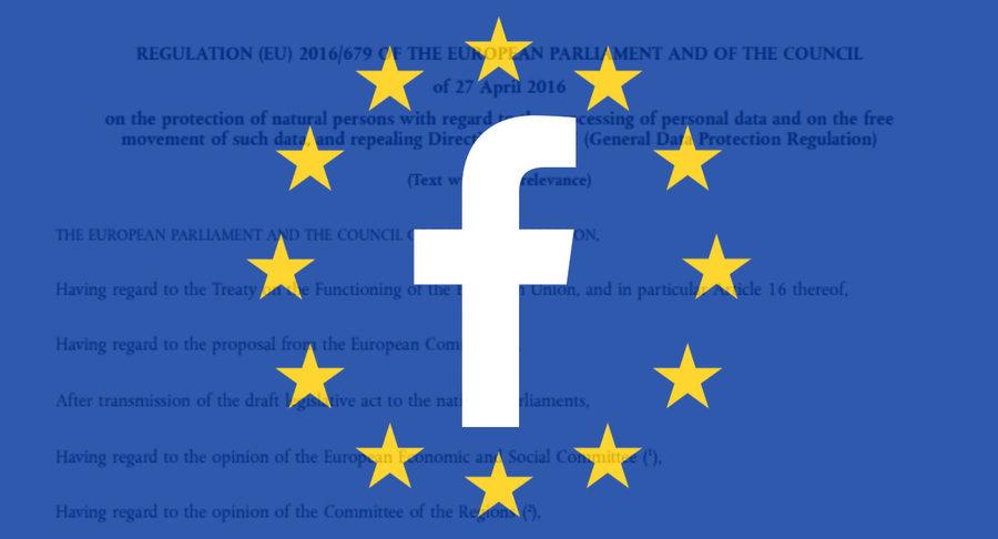 اتحادیه اروپا فیسبوک