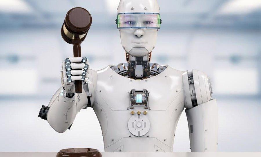 ربات وکیل
