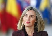 موگرینی: طرح فرانسه میتواند مکمل اجرای برجام باشد