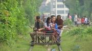 فیلیپین   تاکسی ریلی برای اجتناب از ترافیک شهری