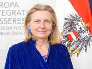 وزیر خارجه اتریش: همکاری اروپا با ایران ادامه خواهد یافت