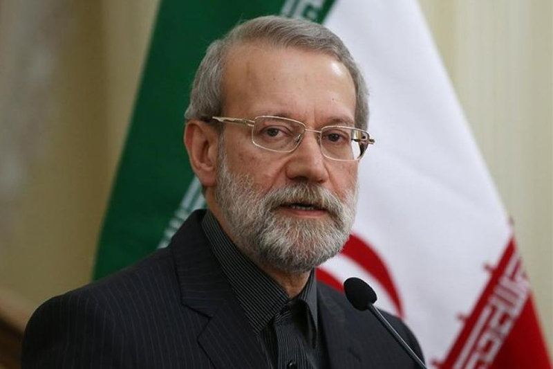 لاریجانی پس از اظهارات امام جمعه کرج سخنرانی خود را لغو کرد