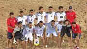 تیم ملی فوتبال ساحلی ایران در رده دوم جهان