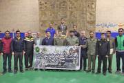 دانشجویان دانشگاه افسری امام علی قهرمان مسابقات سنگنوردی ارتش شدند
