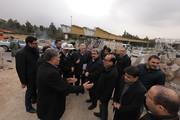 تلاش برای تکمیل سریع پل دسترسی از بزرگراه شهید چمران به منطقه ولنجک