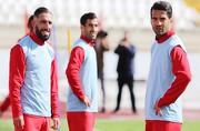 تمرین تراکتورسازی با سه کاپیتان تیم ملی