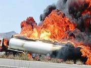 انفجار تانکر سوخترسان طی تیراندازی در خرمآباد | شهادت یک سرباز