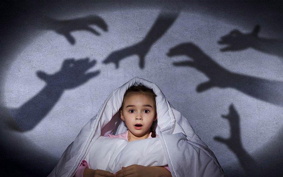 دلیل ترس کودکان از تاریکی چیست؟