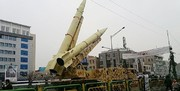 نمایش موشکهای بالستیک سپاه در راهپیمایی ۲۲ بهمن