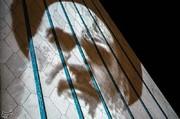 عکس | ویدئومپیگ روی برج آزادی به مناسبت پیروزی انقلاب