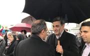 شهردار تهران در راهپیمایی ۲۲ بهمن