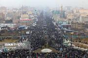 نمای هوایی | راهپیمایی ۲۲ بهمن ۹۷ تهران