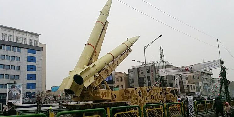 موشکهای بالستیک سپاه