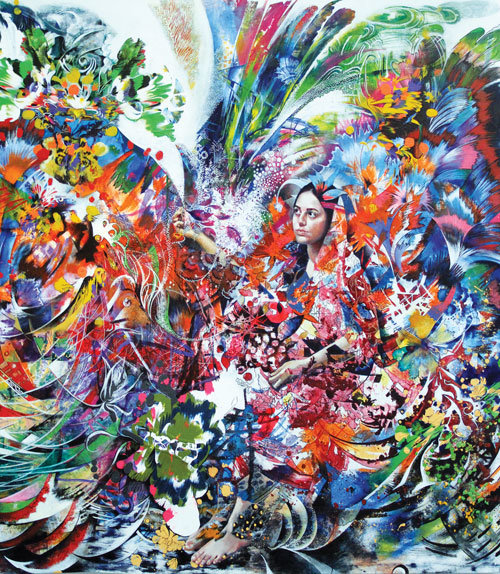 ۶۲۰ اثر از ۴۹۴ هنرمند در نمایشگاه طوبای زرین