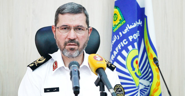 سردار تقی مهری رئیس پلیس راهور ناجا