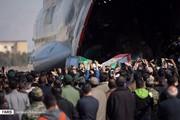 عکس | ورود پیکر شهدای حادثه تروریستی سیستان و بلوچستان به اصفهان