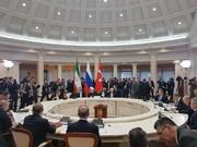نشست سه جانبه روسای جمهور ایران، روسیه و ترکیه