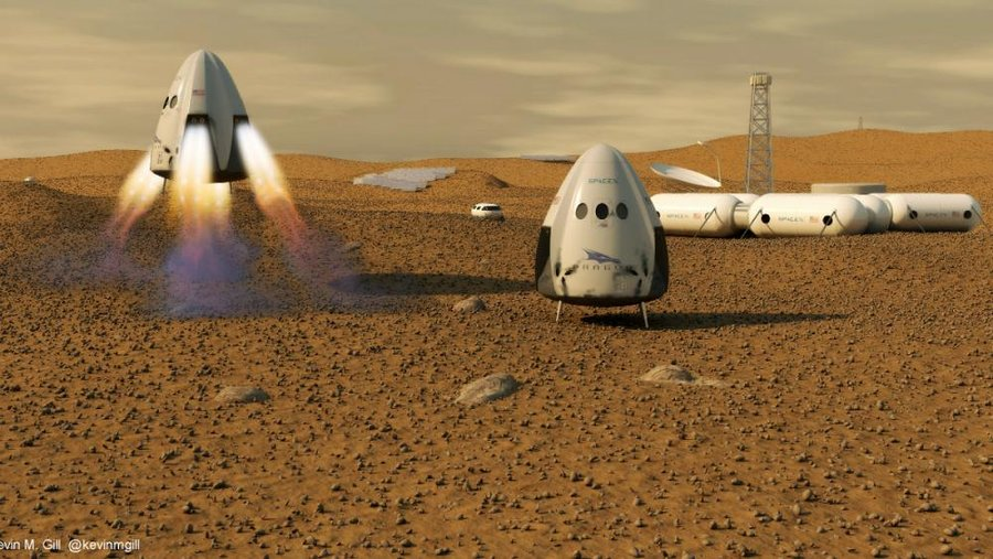 بلیط سفر به مریخ چند دلار است؟