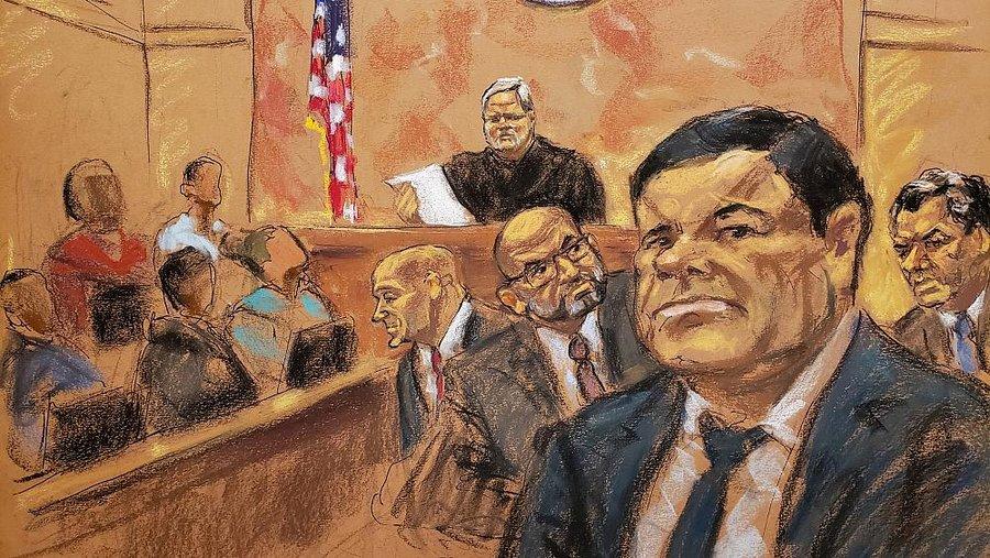 ال چاپو در آستانه حبس ابد؛ پدرخوانده قاچاق کوکائین مجرم شناخته شد