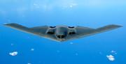فیلم| هواپیمای بمبافکن رادار گریز B2