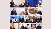 دیدار شهردار تهران با آیات عظام در قم
