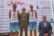 موسسه ورزش کیش قهرمان جام والیبال ساحلی کیان شد
