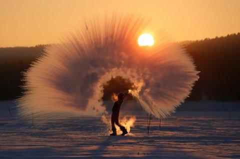 روسیه - آب داغ و هوای سرد