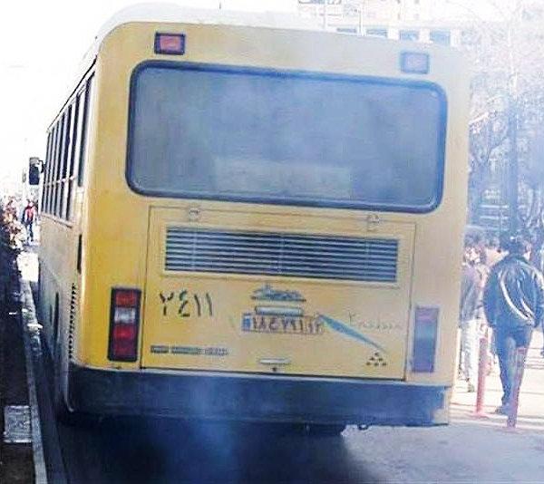 اتوبوس دودزا فرسوده