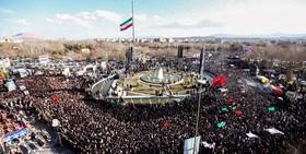 قدردانی سپاه از حضور باشکوه مردم در مراسم تشییع شهدای جنایت تروریستی زاهدان