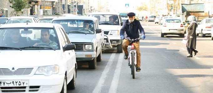 پيرمرد دوچرخه سوار