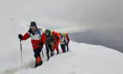 بروز کولاک برف در ارتفاعات البرز