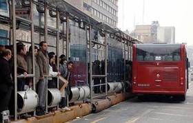تهران   علل ورود دیرهنگام اتوبوسها به خطوط بیآرتی