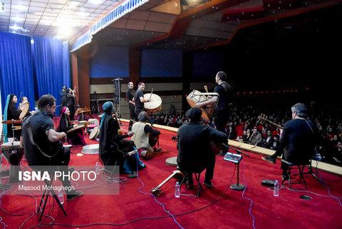 کنسرت گروه رستاک در سمنان