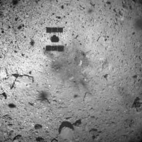 سفینه ژاپنی روی سیارک ریوگو فرود آمد