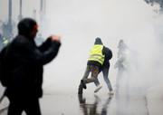 فیلم | پلیس فرانسه و جلیقهزردها